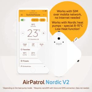 Etäohjain AirPatron Nordic
